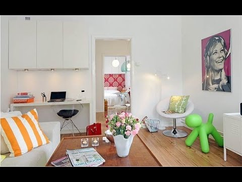 Mejores dise os de apartamentos peque os youtube for Ideas para decorar departamentos pequenos