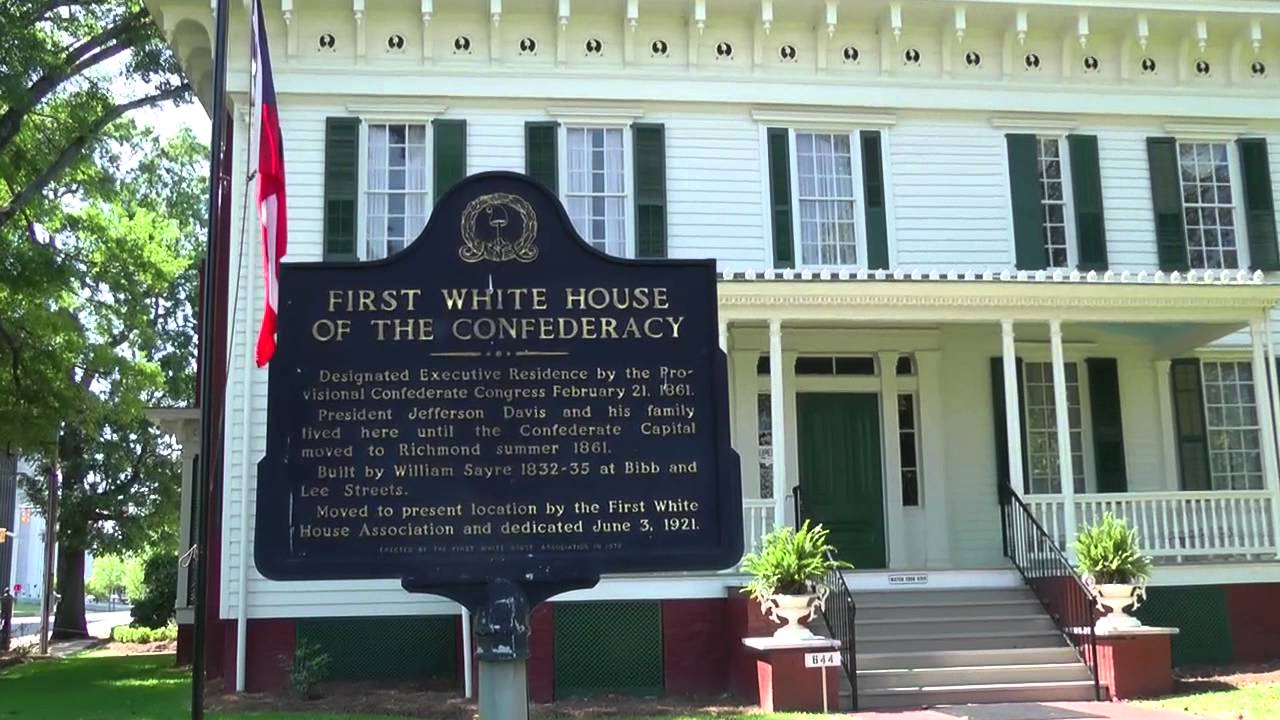 First White House of The Confederacy First Confederacy White House