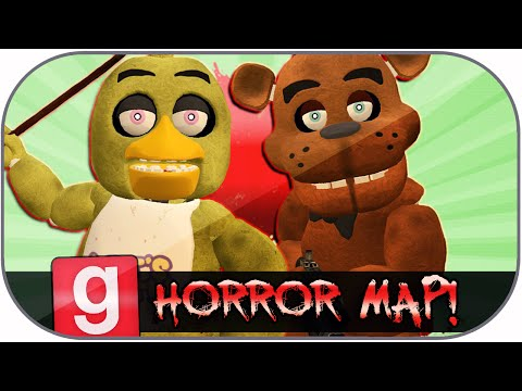 Gmod Funny Moments: Five Nights At Freddy's Parody! (gmod Horror Map) video