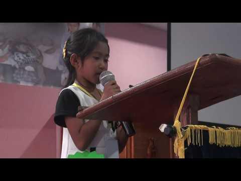 hebat............pidato untuk Ahok..... Dari anak usia 7 tahun. #KamiUntukAhok..