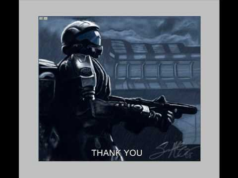 HALO 3 ODST - Speed Painting By Sean McCoy