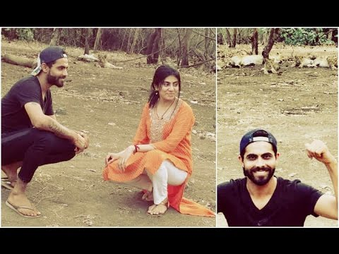 Ravindra Jadeja in Trouble for Posing with Gir Forest Lions