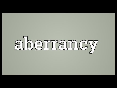 Header of Aberrancy