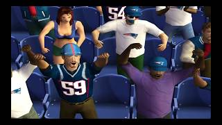 NFL 2K5 Patriots vs. Rams (Throwback Game)