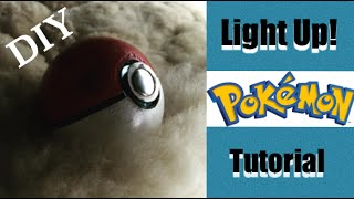 How to make a Pokeball, Play Pokemon Go with your very own pokeball. Easy crafts and Cosplay Ideas