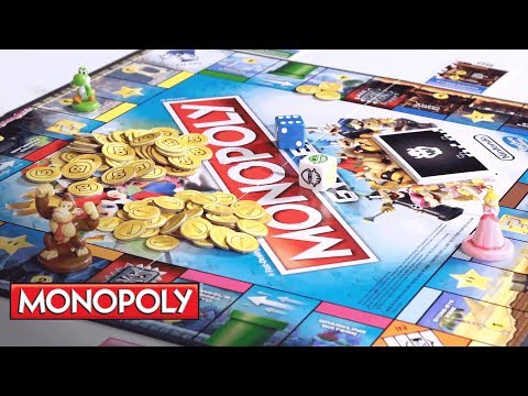 How to Play: Monopoly Gamer w/ Mario, Princess Peach, Donkey Kong & Yoshi - Hasbro Gaming