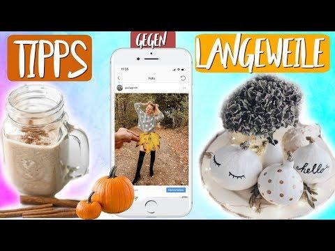 WUHU! Noch mehr neue TIPPS GEGEN LANGEWEILE! Herbst Deko, Kürbis Rezept, DIY & Mehr