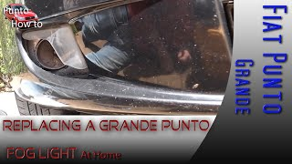 Fiat Grande Punto Fog Light Replacement