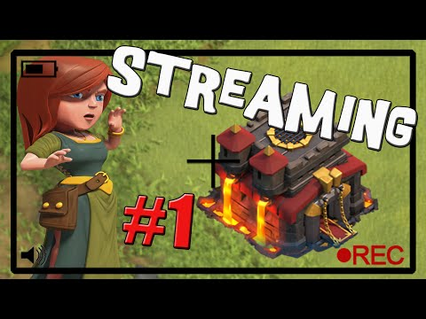 Episodio piloto - Streaming #1 - Clash of Clans en español