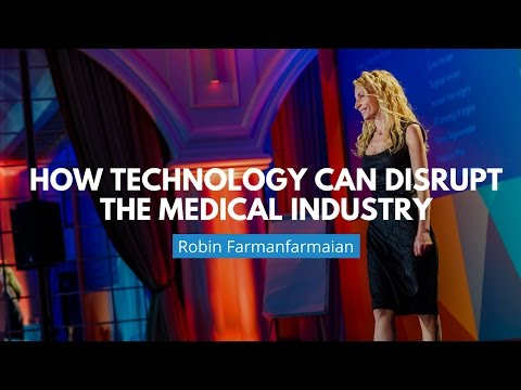 How Technology Can Disrupt The Medical Industry | Robin Farmanfarmaian [A-Fest Talk]