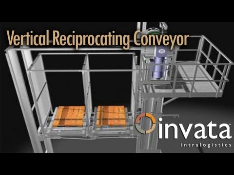 Pallet Elevator Lift - Vertical Reciprocating Conveyor | (Invata Intralogistics)