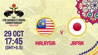 Малайзия до 18 : Япония до 18