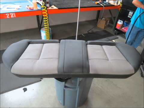 How to install Nissan Altima leather seat covers and interiors