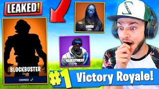SECRET BLOCKBUSTER SKIN *LEAKED* in Fortnite: Battle Royale!