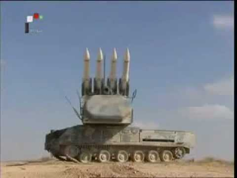 Syrian army armed forces Syria military equipment missile live-fire military exercise december 2011