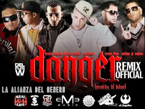 Kendo Kaponi ft. Arcangel, Ñengo Flow, Julio Voltio +Varios - DANGER (OFFICIAL REMIX) ORIGINAL