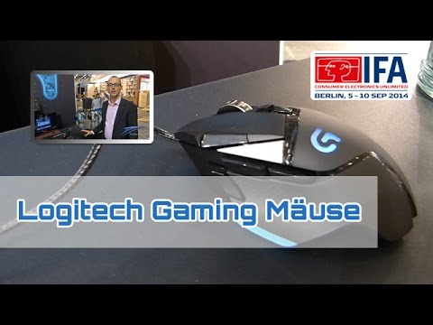 IFA 2014: Logitech G402 Hyperion Fury & G502 Proteus Core [Hands on/HD]