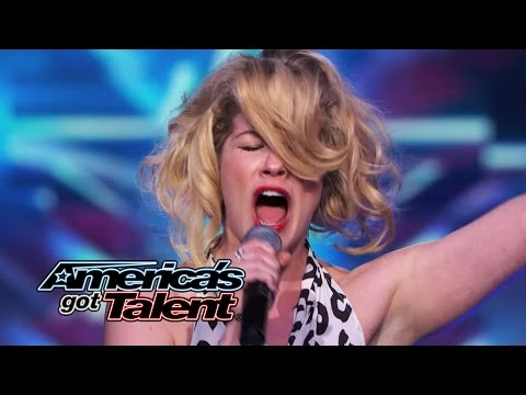 "Emily West: Singer-Songwriter Shines With ""You Got It"" Cover - America's Got Talent 2014"