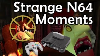 Strange Moments in Nintendo 64 Games