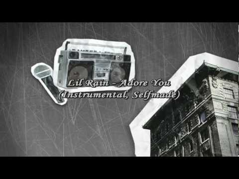 Adore You - Lil Rain (instrumental, Selfmade) Lyrics video