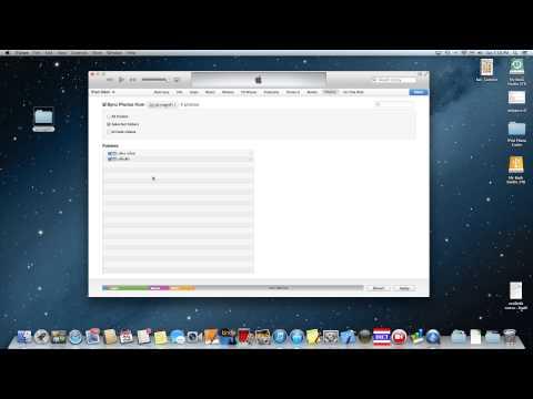 เอารูปลง iPad ด้วย iTunes ตอน 1