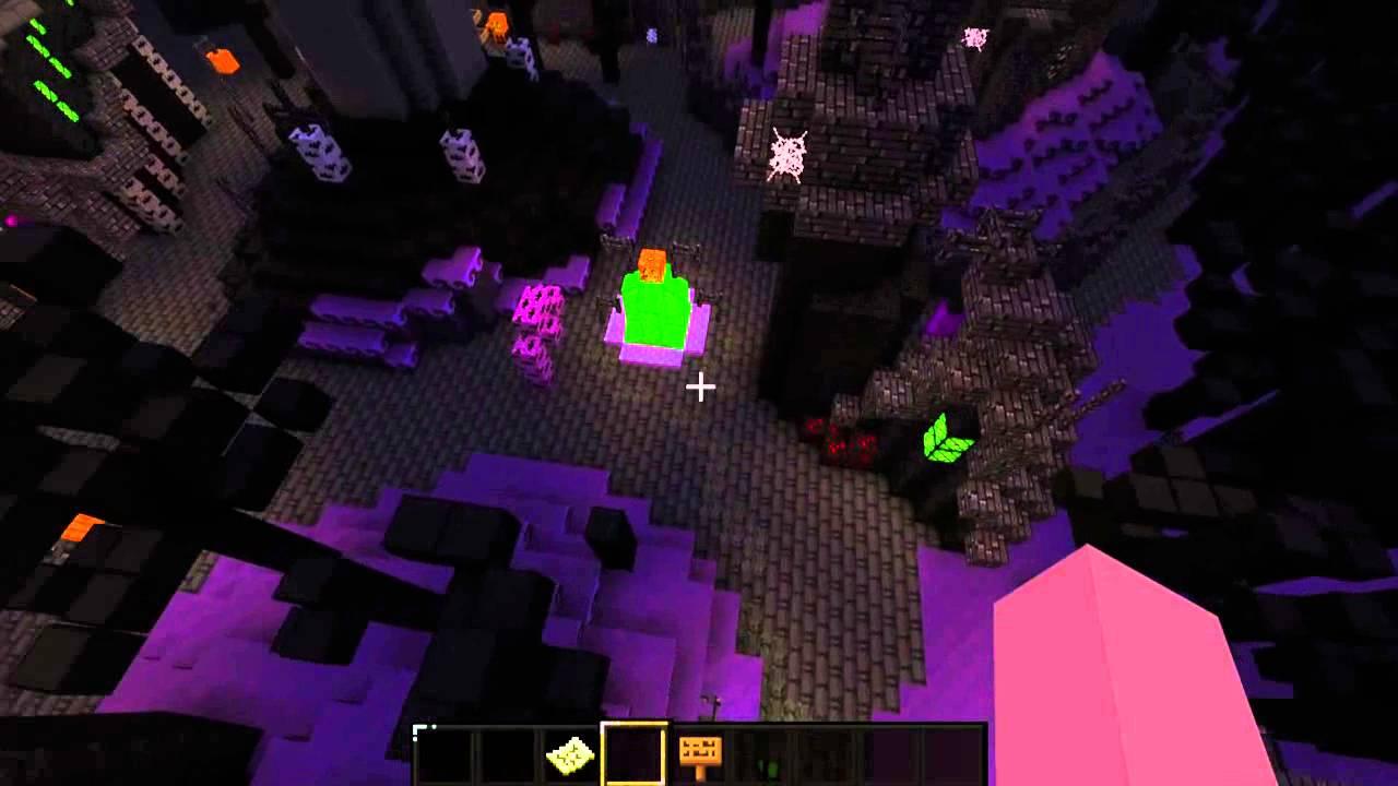 Minecraft Halloween Town Build
