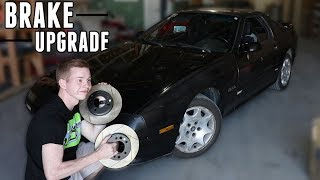 RX7 Drift Car Gets a MASSIVE Brake Upgrade!