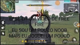 JOGUEI UMA PARTIDA DE FREE FIRE  BABY GAMES