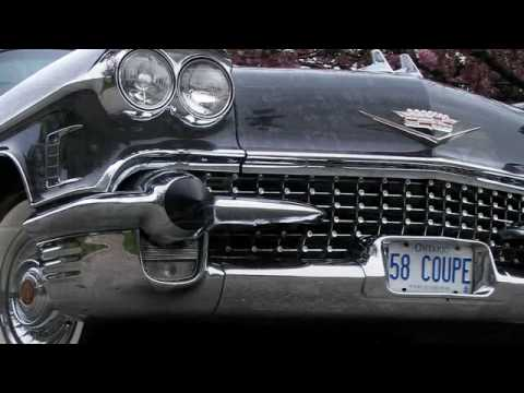 An interesting look at an original 1958 two door Caddy in Canada. The 1958 Cadillac Coupe DeVille.