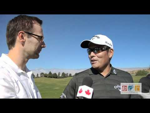 Canadians Abroad interviews Notah Begay III on the Golf Course