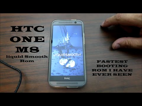 HTC One M8 Liquid Smooth Rom Install and Review