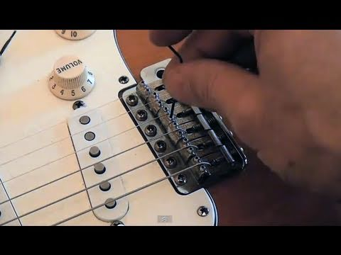 Perfect Stratocaster setup: Setting strings height action - frudua.com
