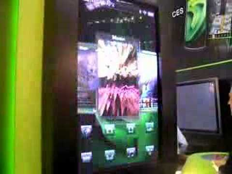 Shiny at MWC: NVIDIA s iPhone-busting mobile UI
