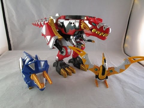 Retro Review: Thundersaurus Megazord (Power Rangers Dino Thunder)