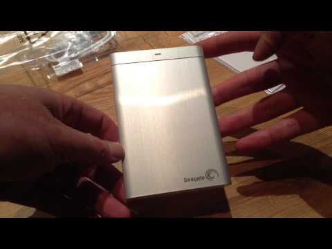 Seagate Backup Plus Portable External Hard Disk Silver Product