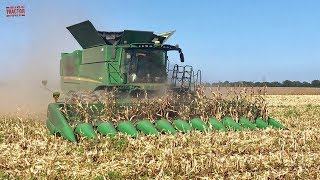 Riding with Matt: John Deere S790 Combine Harvesting Corn