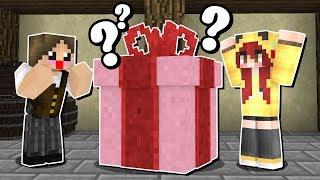 Minecraft Infinito #18: A CHERRY ME DEU O PRESENTE QUE EU MAIS QUERIA!