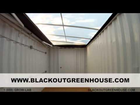 blackout greenhouse h365 automatic light deprivation greenhouse. Black Bedroom Furniture Sets. Home Design Ideas