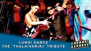 Lungi Dance - The 'Thalaivar(r)' Tribute - Shah Rukh Khan, Deepika Padukone & Honey Singh.