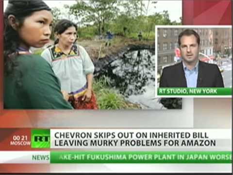 RT TV: 'Rigging the System?' Chevron's Latest Legal Tactics in Ecuador Case