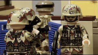 LEGO MODERN WARFARE FILM - part 3 (Long road home)
