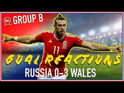 RUSSIA v WALES 0-3 | SOCIAL CLUB GOAL REACTIONS