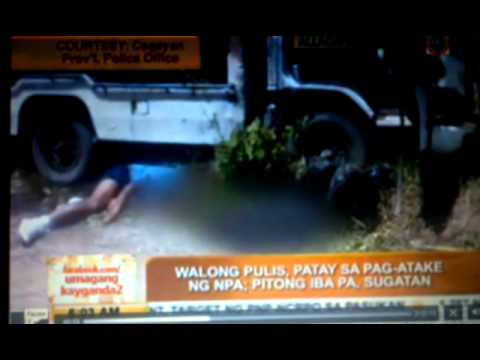 8 policemen killed in Cagayan ambush