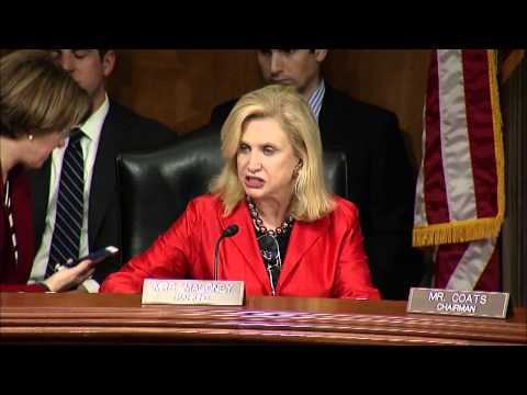 Rep. Carolyn Maloney Opening Statement: Examining the Employment Effects of the Affordable Care Act