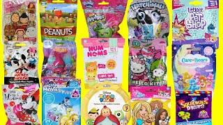 Blind Bags Toys Trolls Smooshy Mushy Peanuts Care Bears Hello Kitty Minnie Mickey Mouse Hatchimals