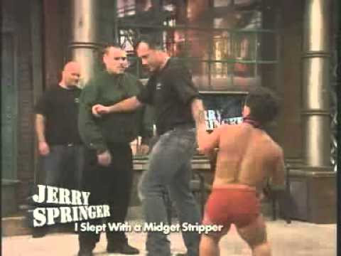 nude midgets jerry springer