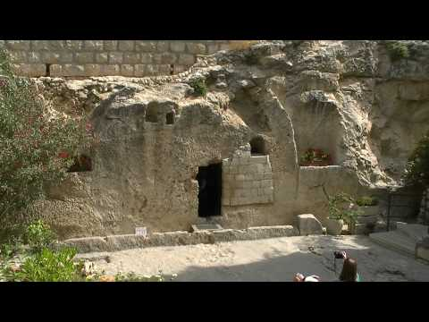 Garden Tomb where Jesus Christ was laid