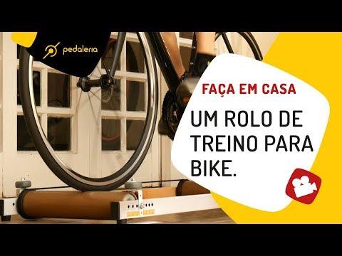 Como fazer um rolo de treino para bike? Pedaleria