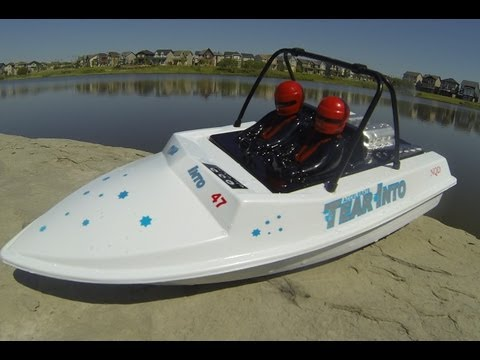 RC CWR NQD jet boat gone brushless
