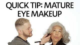 Quick Tip: How To Apply Makeup For Mature Eyes | Sephora